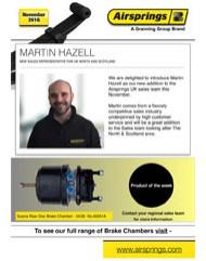 New Sales Representative for UK North & Scotland