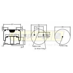 AIRSPRING COMPLETE - SOLARIS BUS | 020701-0004-012-361