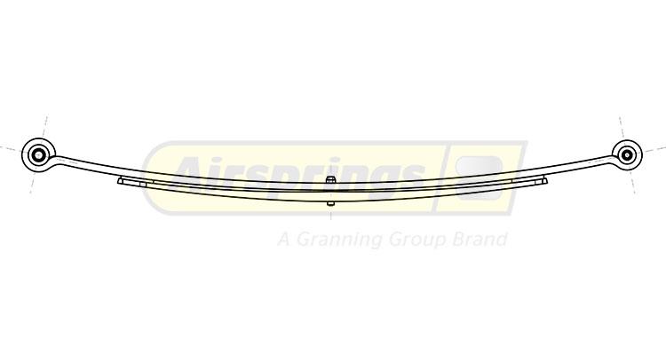 LCV SPRING - MERCEDES SPRINTER RR 2L   9063202006