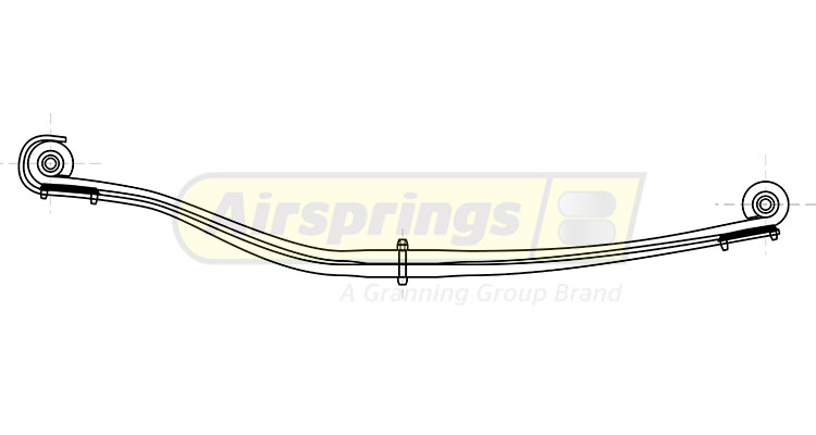 TRUCK SPRING -  VOLVO FRONT 2L | 257943