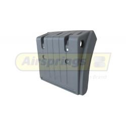 MAN TGA-L-M-X REAR MUDGUARD FRONT HALF LHS | 81664100293