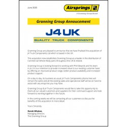 J4 Truck Components is now part of Granning Group
