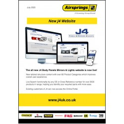 New J4 Body Panels Mirrors & Lights website is now live!