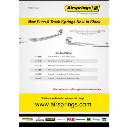New Euro-6 Truck Springs Now in Stock