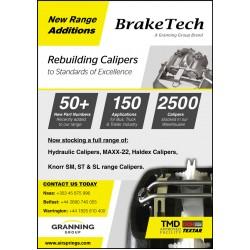 Brake Calipers New Range Additions