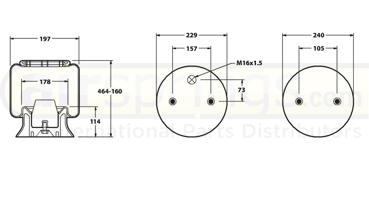 AIRSPRING COMPLETE - GRANNING | W01-M58-6253 HA100309