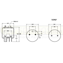 AIRSPRING COMPLETE -  ROR / WEWELLER 21221307, 4157NP04, CF152603, AM136297