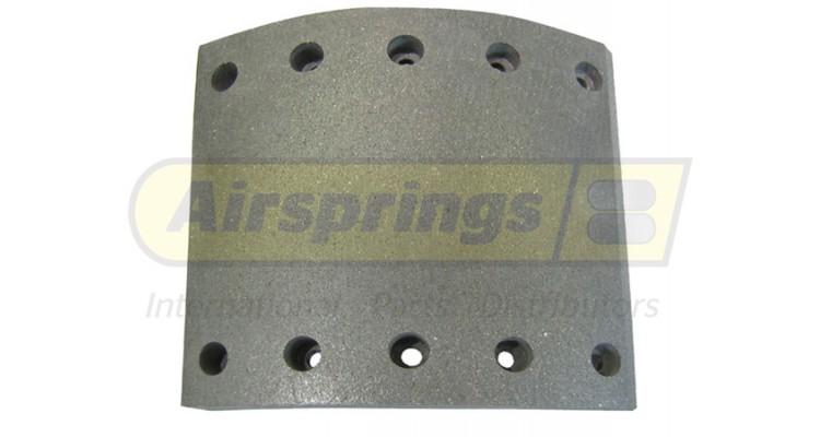 Air Brake Lining : Brake lining wva bpw saf