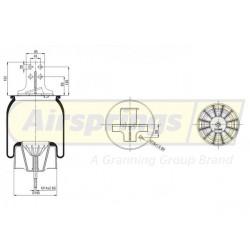 AIRSPRING COMPLETE - IVECO STRALIS REAR RHS   41270466