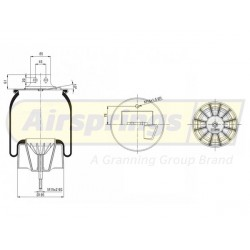 AIRSPRING COMPLETE - IVECO STRALIS FRONT RHS | 41270463