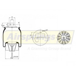 AIRSPRING COMPLETE - IVECO STRALIS FRONT LHS   41270462