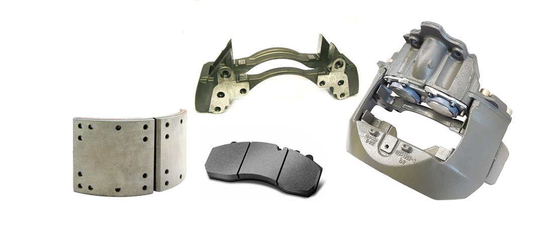 Brake Calipers Shoes & Friction
